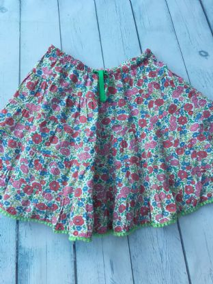 Mini Boden Liberty print twirly whirly skirt age 2-3